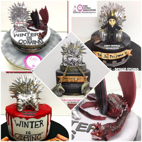 Best Game of Thrones Cakes Delhi | Online Cake Delivery