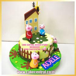 Peppa Pig Cake Delhi Online