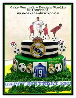 Kids Football Birthday Cakes in Delhi Online