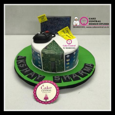 Computer Cake & Geek Cake Delhi   