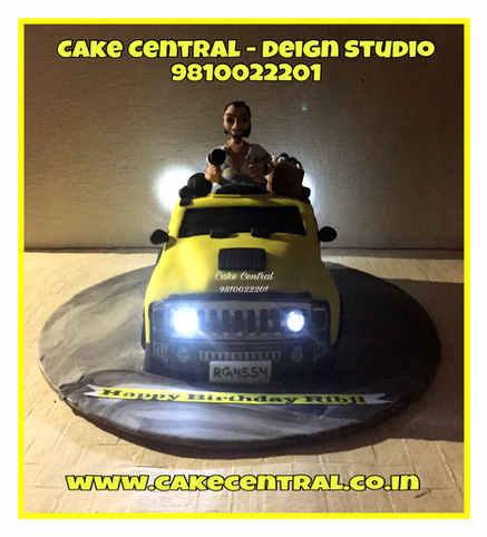 3D /4D Hummer Car Cake Delhi   Online Cake Delivery Delhi , Gurgaon , Noida
