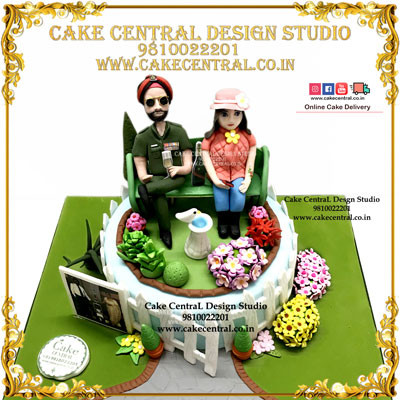 Retirement Cakes in Delhi Online for Dad , Mom , Army Officer