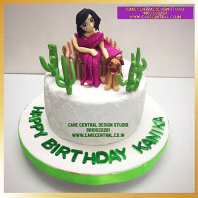 Saree Cake For Moms Birthday In Delhi Online