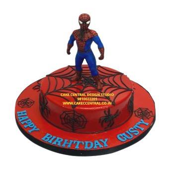 Spider Man Avenger Cake Design in Delhi