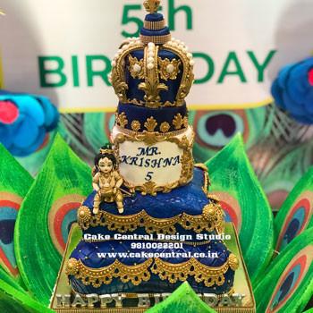 Lord Krishna Cake