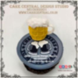 Beer Theme Birthday Cake in Delhi, Noida & Gurgaon Online
