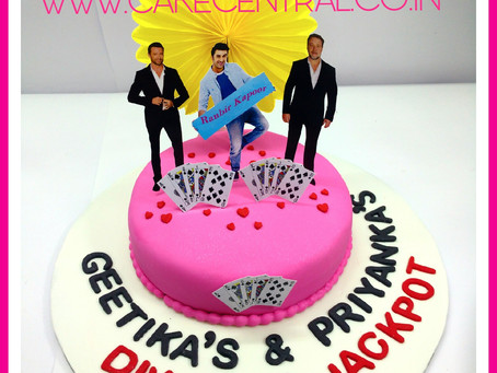 Ranbir Kapoor meets Hugh Jackman & Russell Crowe on my cake !