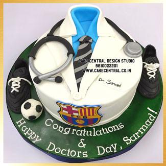 Doctor's Birthday Cake Design Delhi Online