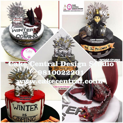Game of thones Cake Design Compilation in Delhi Online