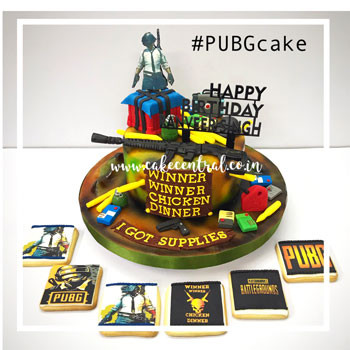 Pubg Cakes In Delhi Order Online Delivery