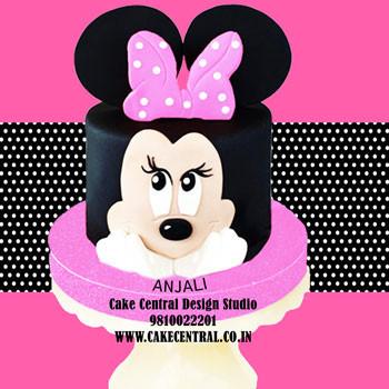 Minnie Mouse Cake in Delhi