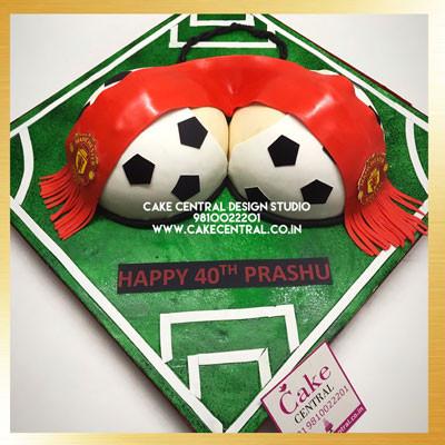 FCB Soccer Naughty Cakes in Delhi