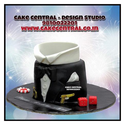 Suit & Tie Cake Delhi