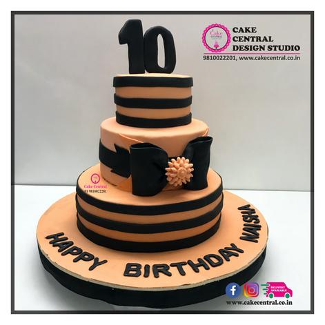 Stripes Cake Delhi