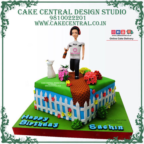 Gym & Fitness Cakes Online in Delhi NCR