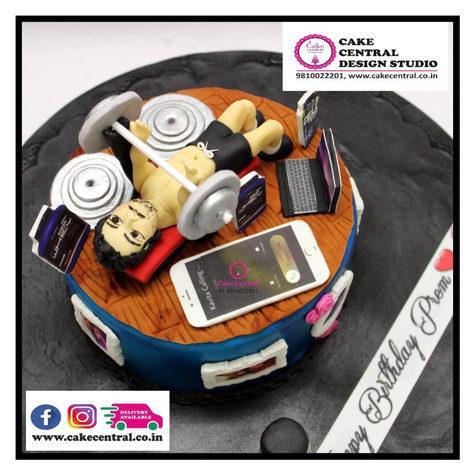 GYM theme Birthday Cake Delhi -