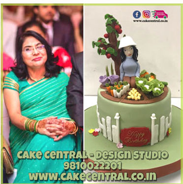 Garden Cake for Mother in Delhi Online