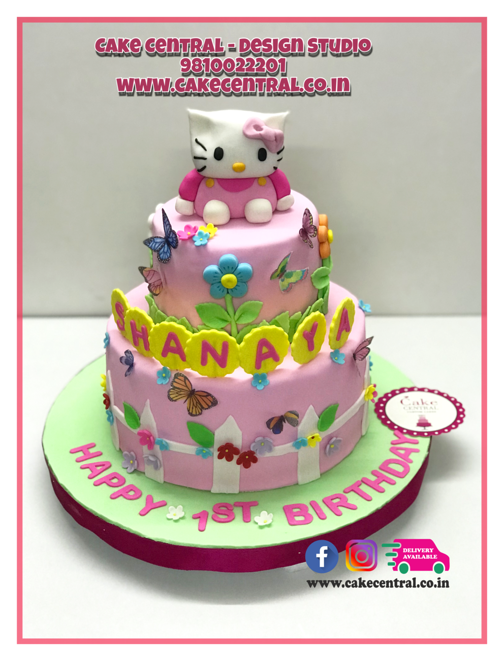 Hello Kitty Cake Delhi Online