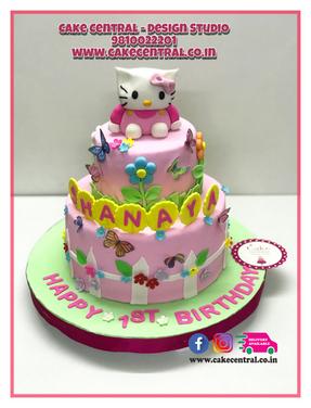 Hello Kitty Cake in Delhi online for Kids Birthday