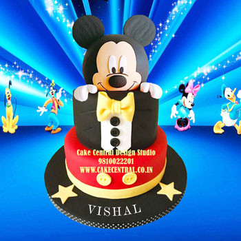Mickey Mouse Cake in Delhi