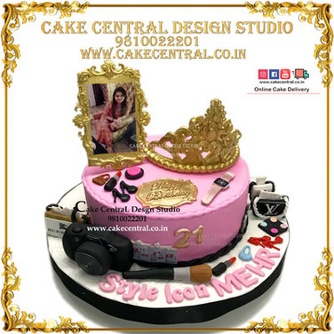Princess Crown Cake for Girl Friend in Delhi Online