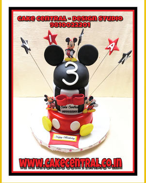 Mickey Mouse Cake Delhi NCR | Kids Cartoon Cake | Online Cake Delivery Delhi , Delhi NCR , Gurgaon ,Noida