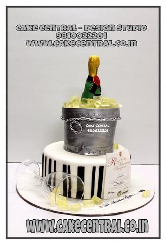 Corporate Celebration Cakes Delhi, Gurgaon, Noida    Online Cake Delivery Delhi , Noida , Gurgaon   Cake Central - Premier Cake Design Studio , New Delhi , Delhi
