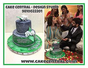 Wedding Cakes Delhi |Engagement Cake