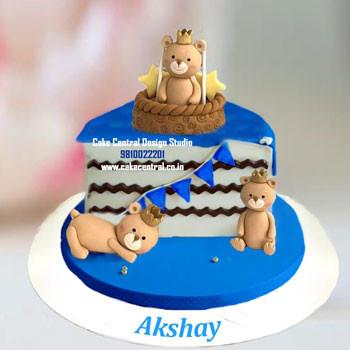 Half Birthday Cake Baby Boy Delhi