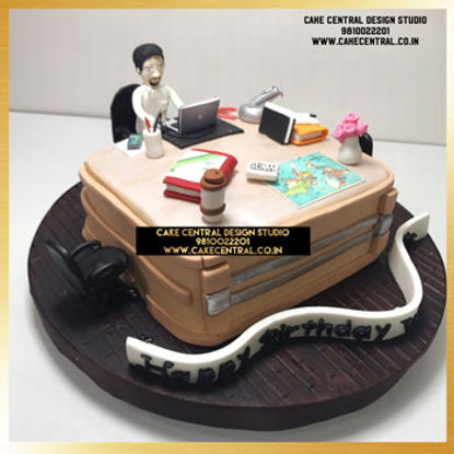Office Cake for Father in Delhi Online