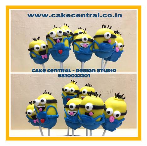 Minion Cake Pops in Delhi Online