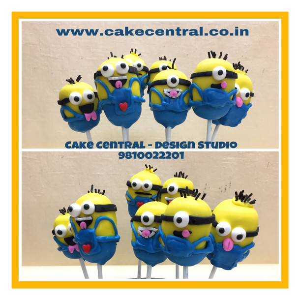 Minion Cake Pops in Delhi Online