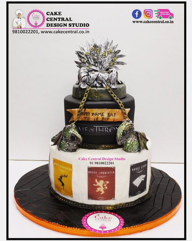 GOT Daenerys Targaryen Birthday Cake |