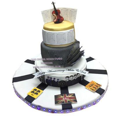 Classical Music Lovers Birthday Cake in Delhi