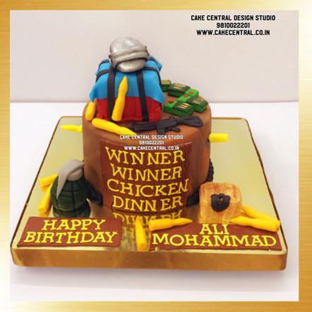 Pubg Cake Design Delhi Online