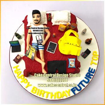 Bed Theme Cake Delhi