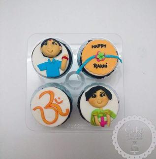 Festive / Holi / Diwali Theme Birthday CupCake By Cake Central - Premier Cake Design Studio . New Delhi