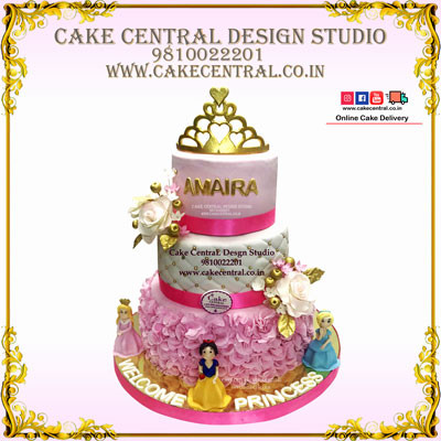 Disney Princess Cake /Crown in Delhi Online