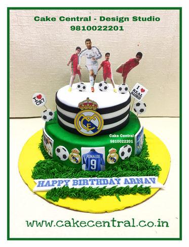 Football - Sports Birthday Cake Delhi