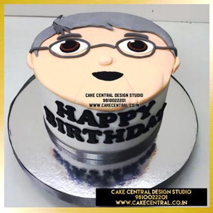 Dad Old Man Cake in Delhi Online