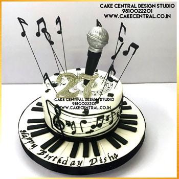 Microphone Cake in Delhi Online