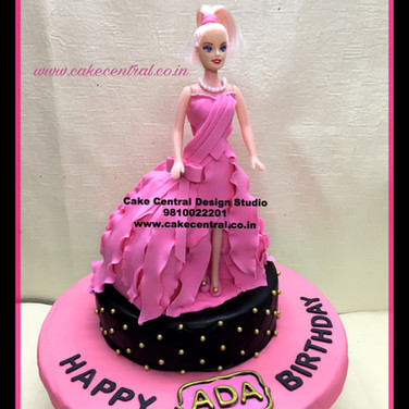 Barbie Princess Doll Cake in Delhi Online
