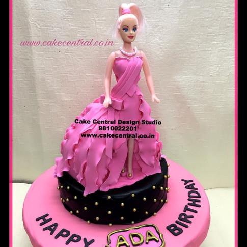 Barbie Doll Cake in Delhi