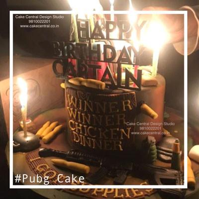 Pubg Cake Design