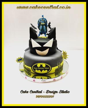 Batman theme Cake for  Kids Birthday party in Delhi Online