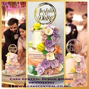 Wedding Cakes in Delhi - Cake Central Design Stuio