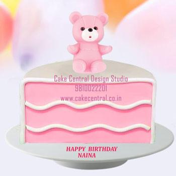 Half Birthday Cake Delhi Online