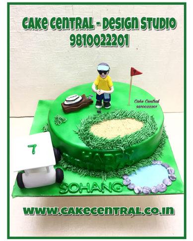 Golf Themed Cake Delhi