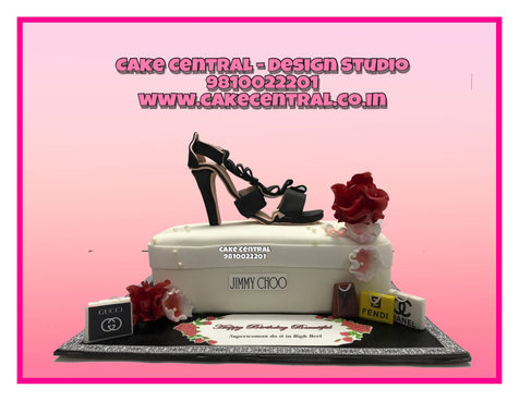 Diva Fashion Stiletto Heel Birthday Cake  Delhi
