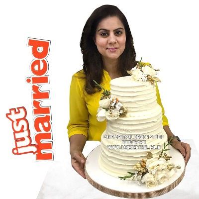 Butter Cream Wedding Cakes in Delhi Online